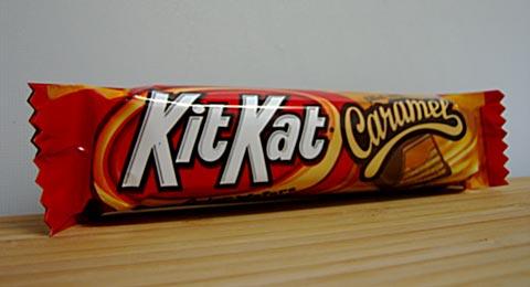 Kit Kat Caramel wrapper