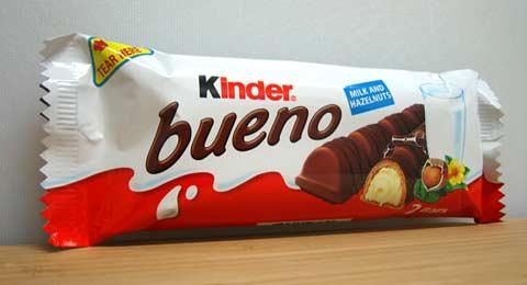 Kinder Bueno packaging