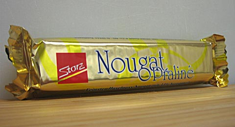 Storz Nougat Praline wrapper