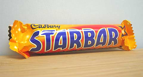 Star Bar wrapper