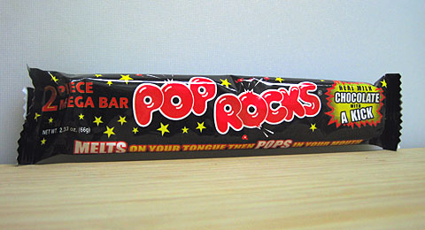 Pop Rocks Mega Bar wrapper